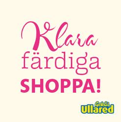 Presentkort Gekas Ullared, Klara, färdiga, shoppa,