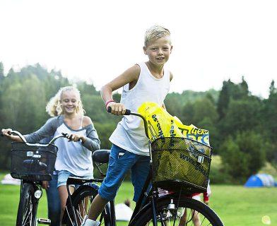 Upplev gekås med cyklar