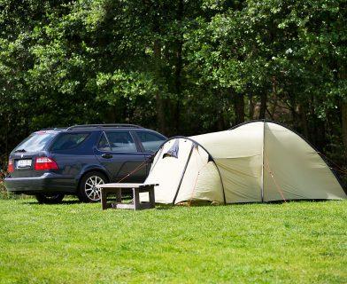 Tältplats på Gekåsbyn camping