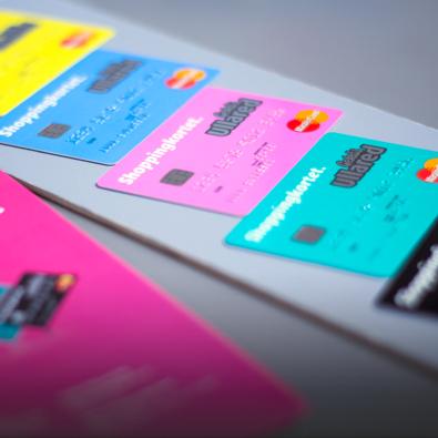Shoppingkortet, Gekås Ullared, MasterCard, fem färger
