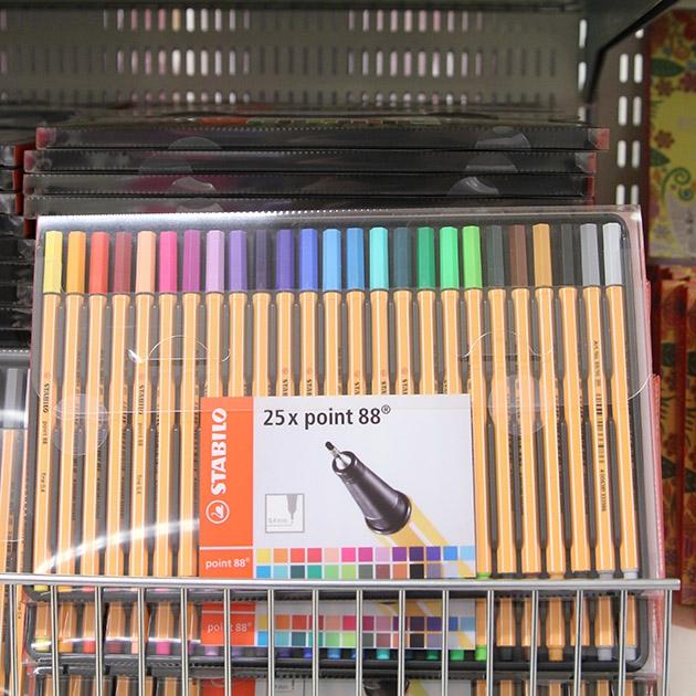 tuschpennor målarbok för vuxna
