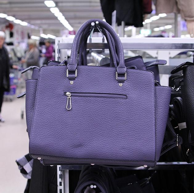Handväska Ullared : Guldkorn p? v?skavdelningen gek?s