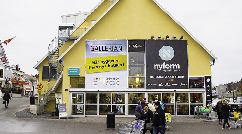 Gallerian i Ullared