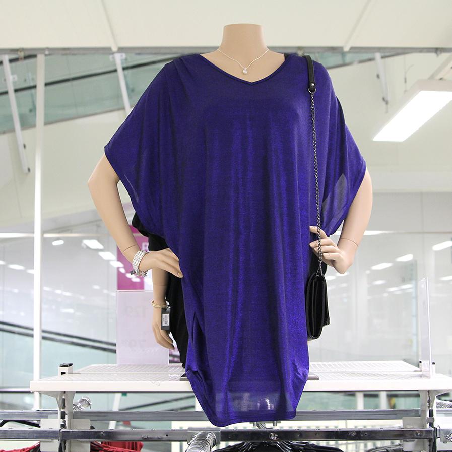Blå klänning med glitter från Gekås Ullared