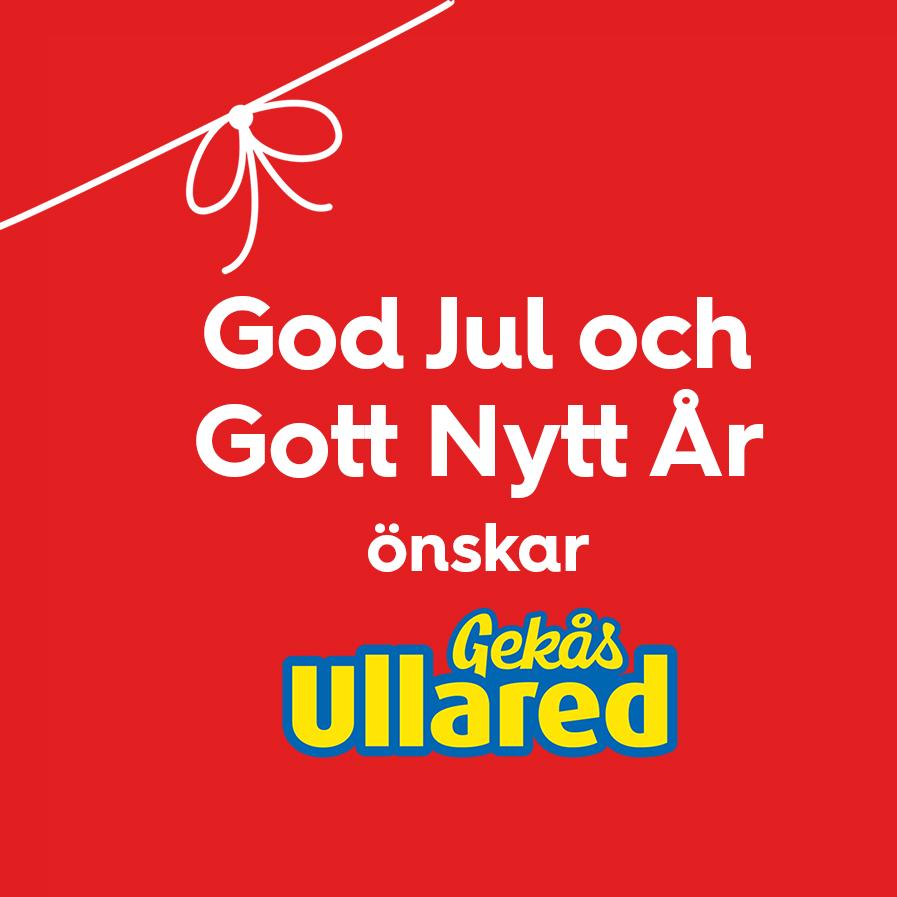 God jul från oss på Gekås Ullared