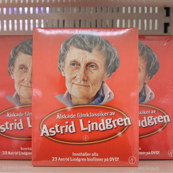 DVD-box med 23 Astrid Lindgren-filmer