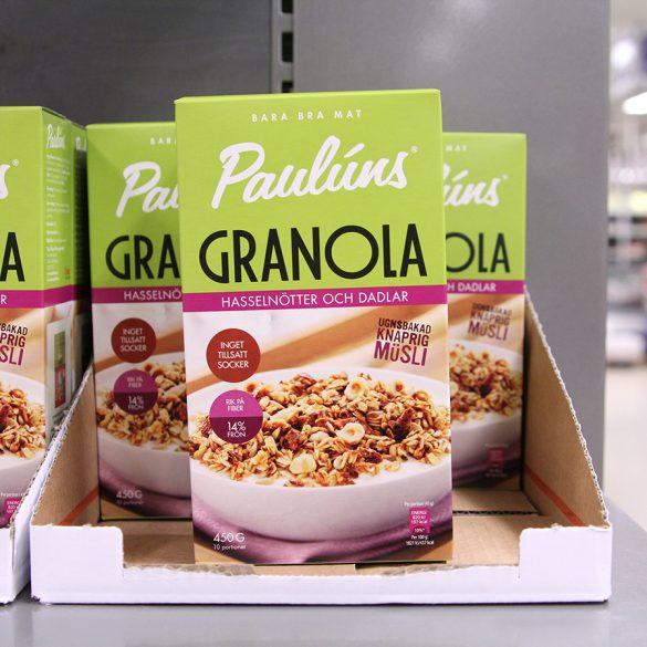 Pauluns granola från Gekås Ullared