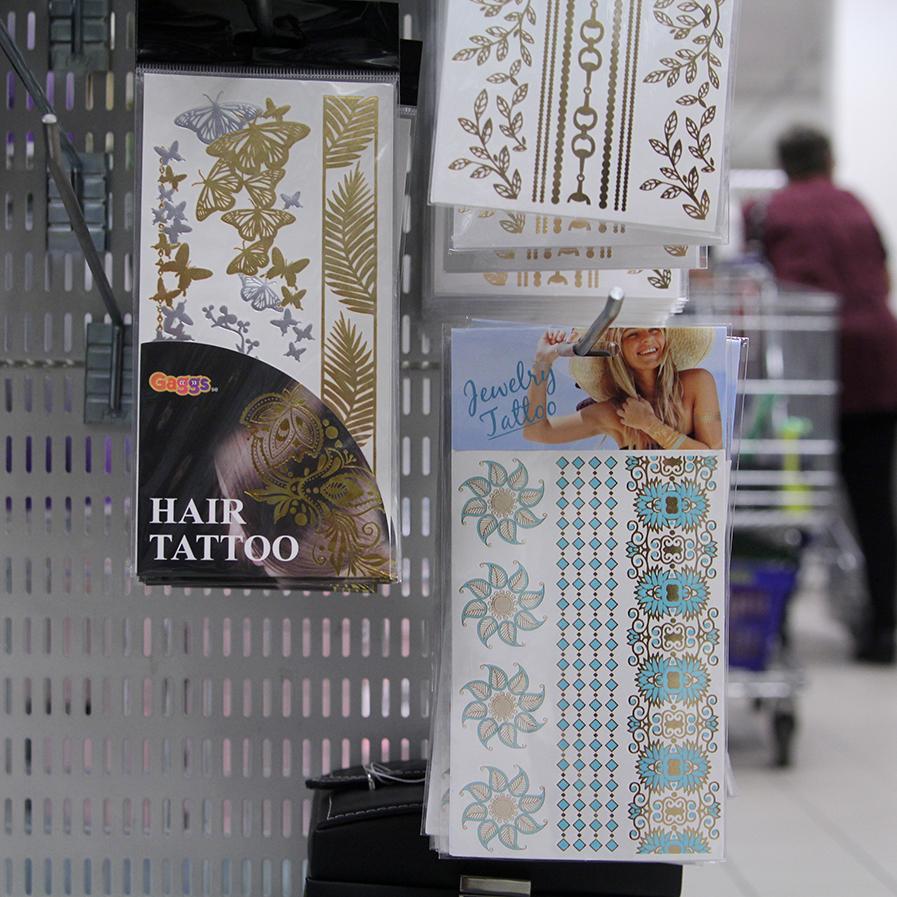 Tatueringar från Gekås Ullared