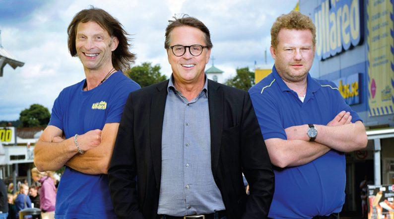 Morgan, Ola-Conny och Jan Wallberg i ny säsong av Ullared