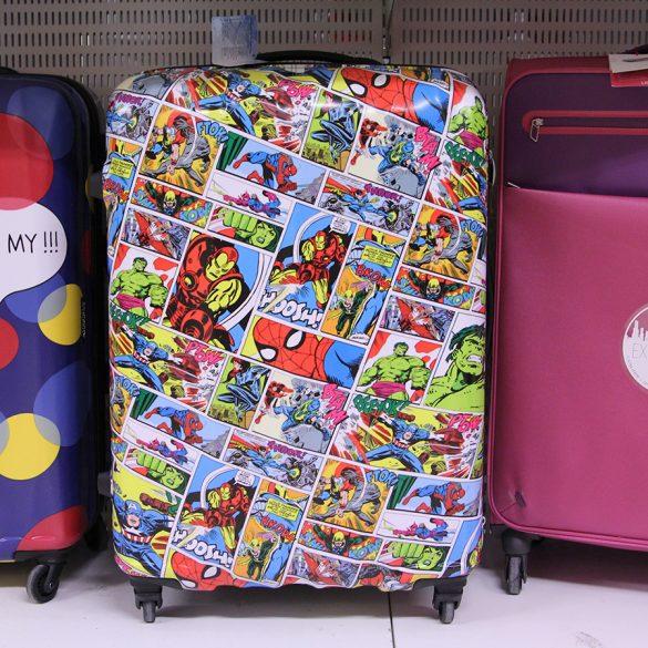 Resväskor med seriemotiv från Gekås Ullared