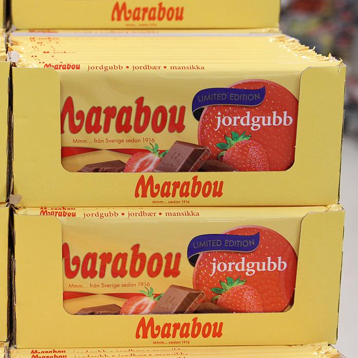 marabou choklad jordgubb