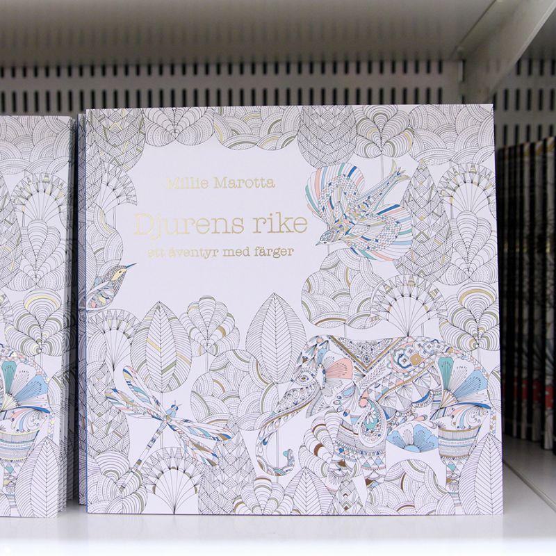målarbok för vuxna coop