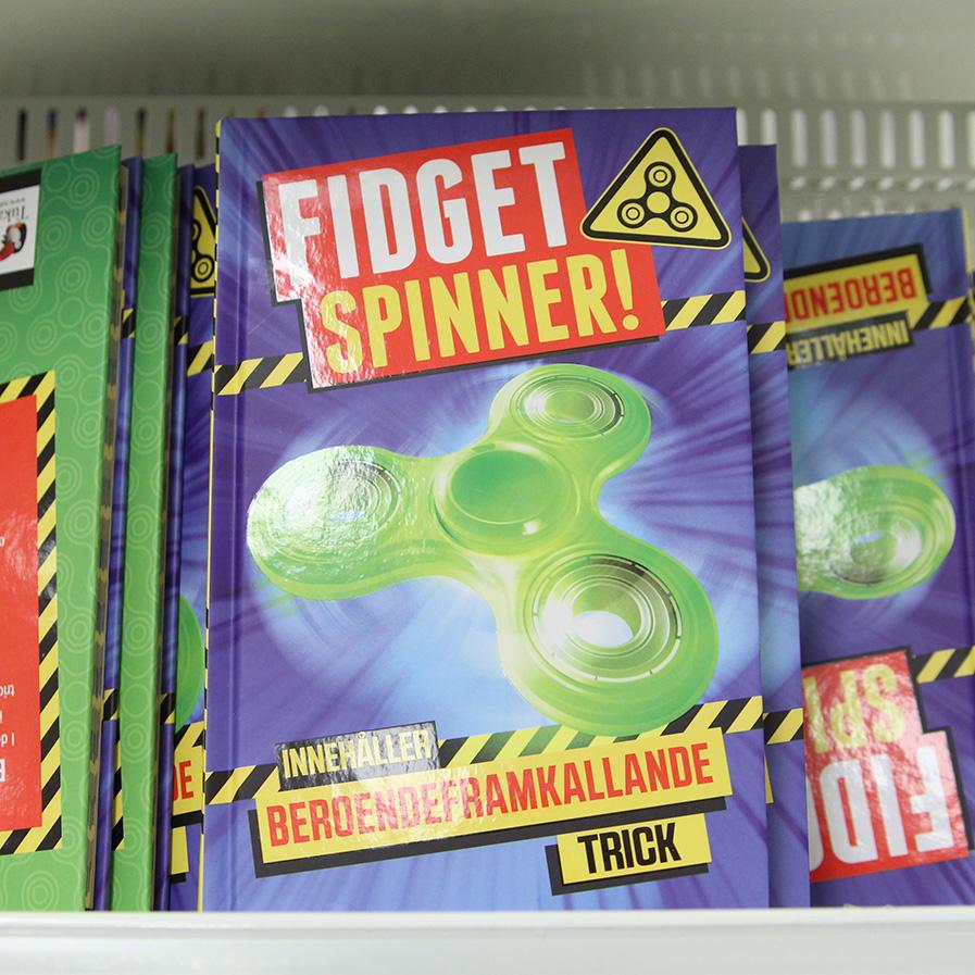 Spinners på Leksaksavdelningen på Gekås Ullared
