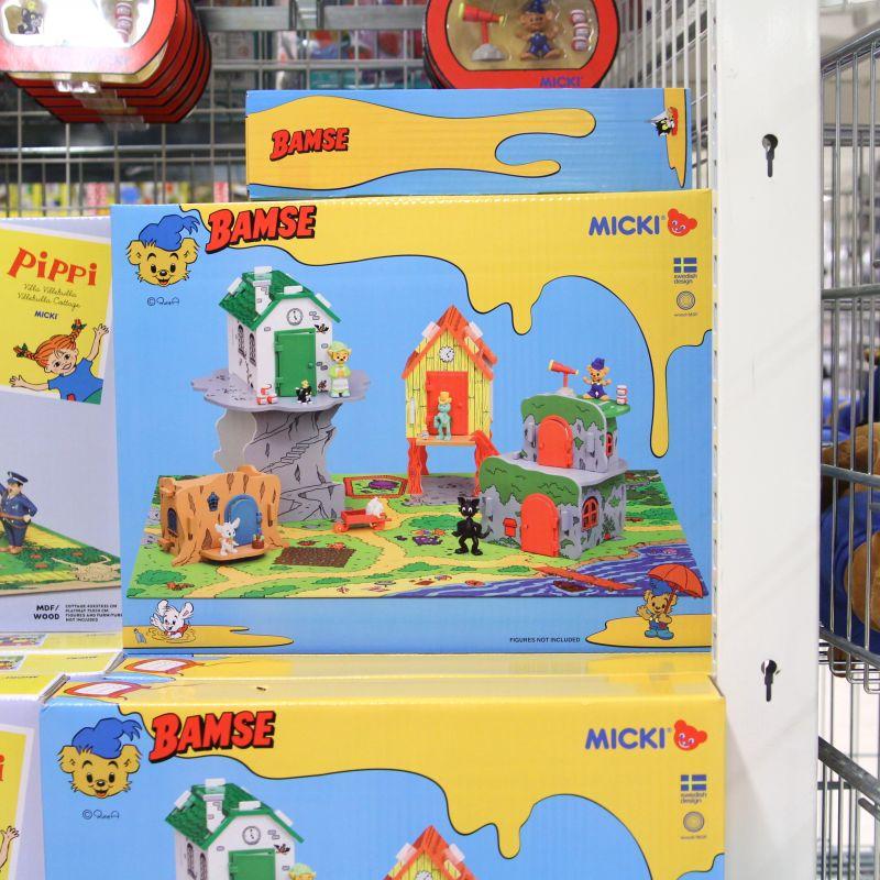 bamse hus leksak