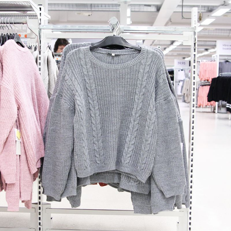 Mysiga stickade tröjor | Gekås Ullared
