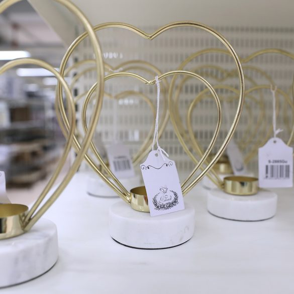 Romantiska ljusstakar från Gekås Ullared