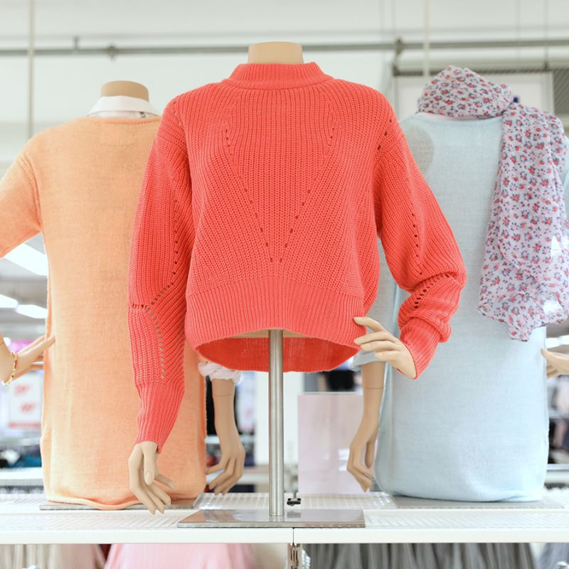 Stickade tröjor i vårens trendiga färger | Gekås Ullared