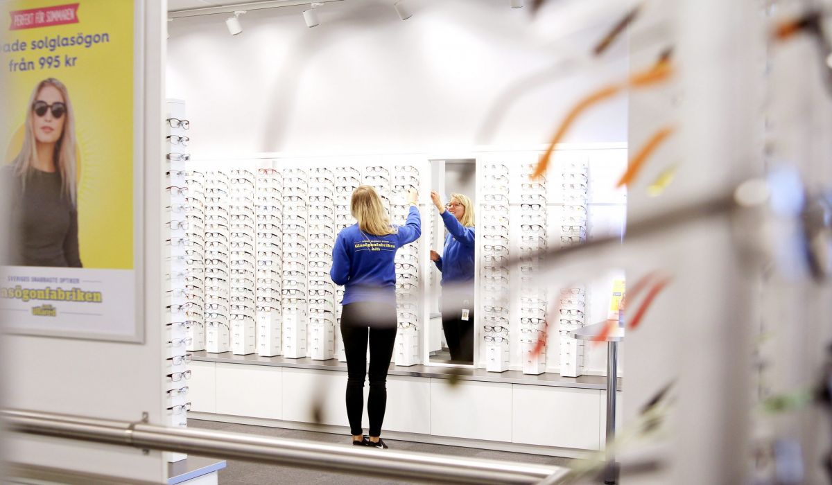 Glasögonfabriken Gekås Ullared