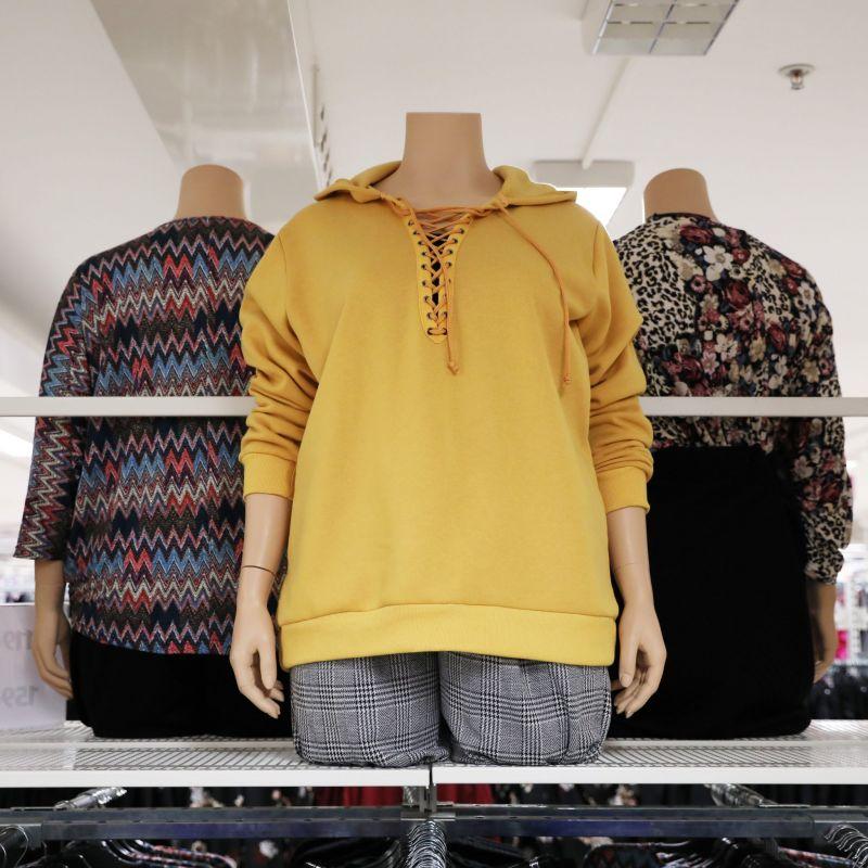 e96cdcb4f786 Vi erbjuder en stor variation av kläder i stora storlekar. Nu har vi fått  in flera nya stil- och smakfulla plagg för både fest och till vardags.