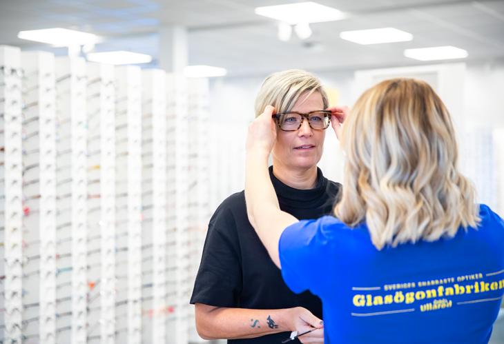 5 000 bågar på Glasögonfabriken Ullared