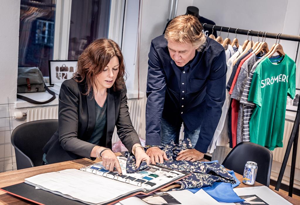 Glenn Strömberg och Linda Nilsson, inköpschef Gekås Ullared