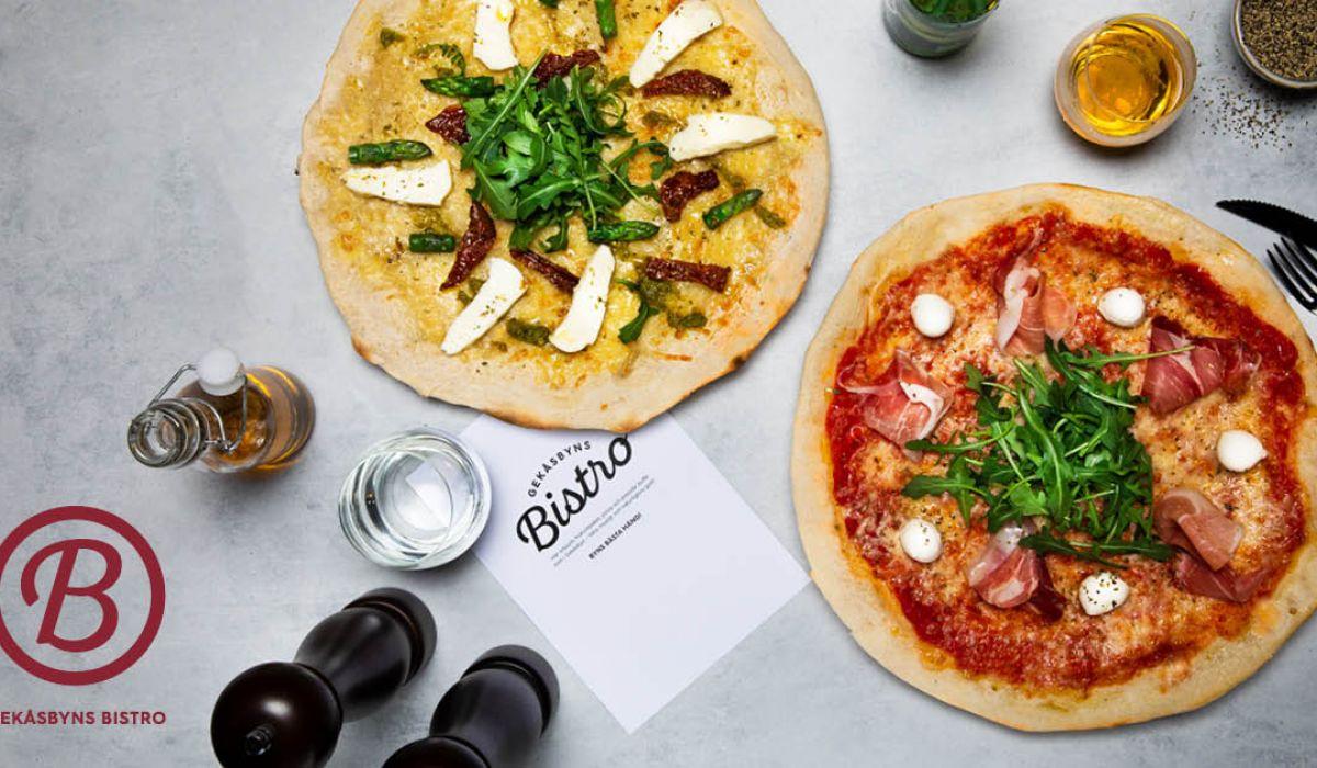 Gekåsbyns Bistro. Pizza, sallader och Bistromeny